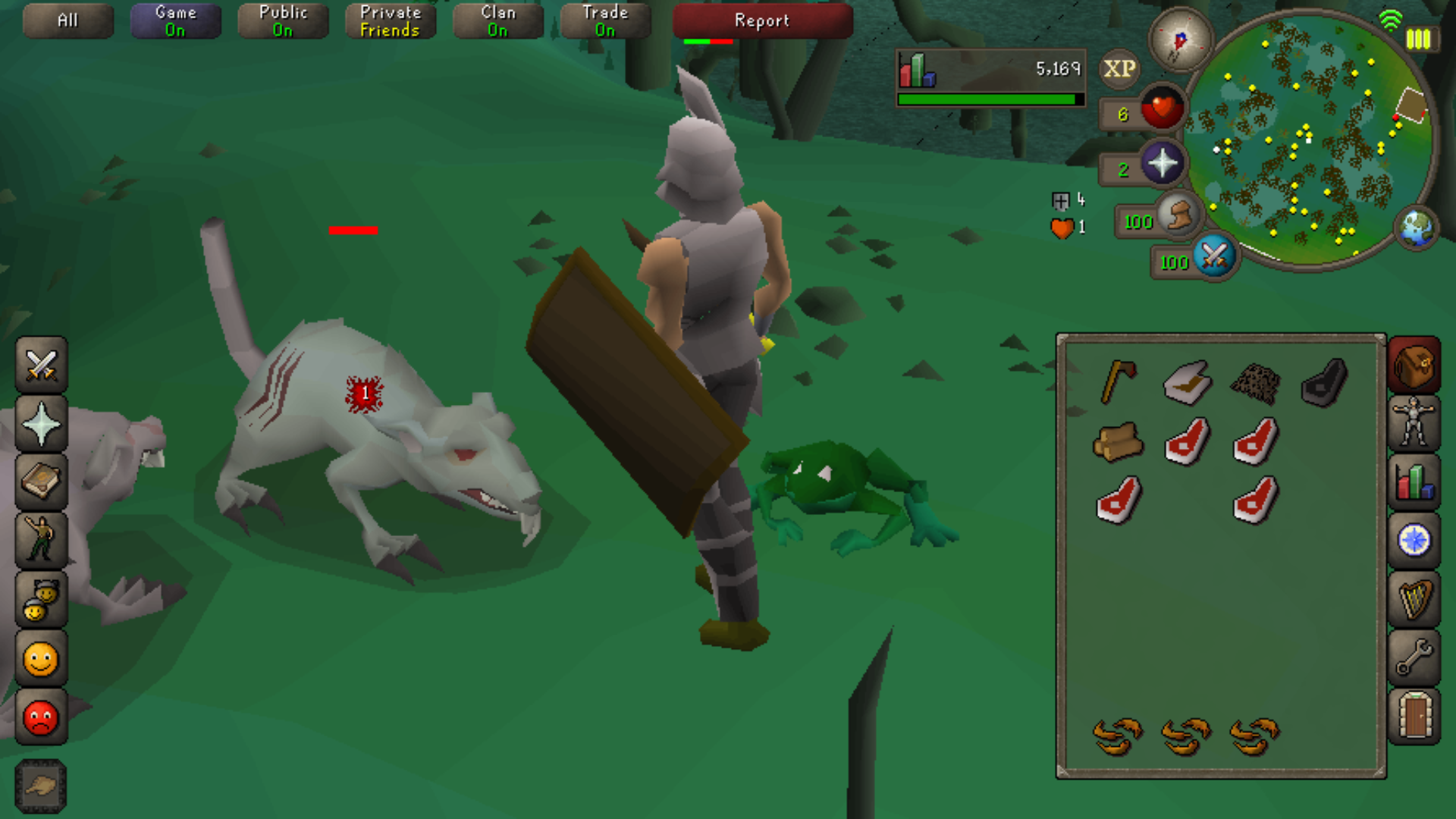 Diaries From Runescape Old School Mobile Beta Mmo Fallout