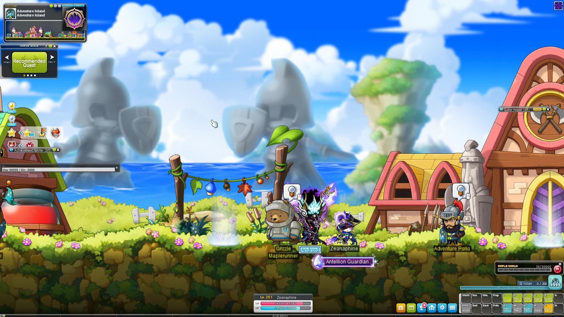 Beta Impressions: MapleStory Rolls Out the Pathfinder | MMO Fallout
