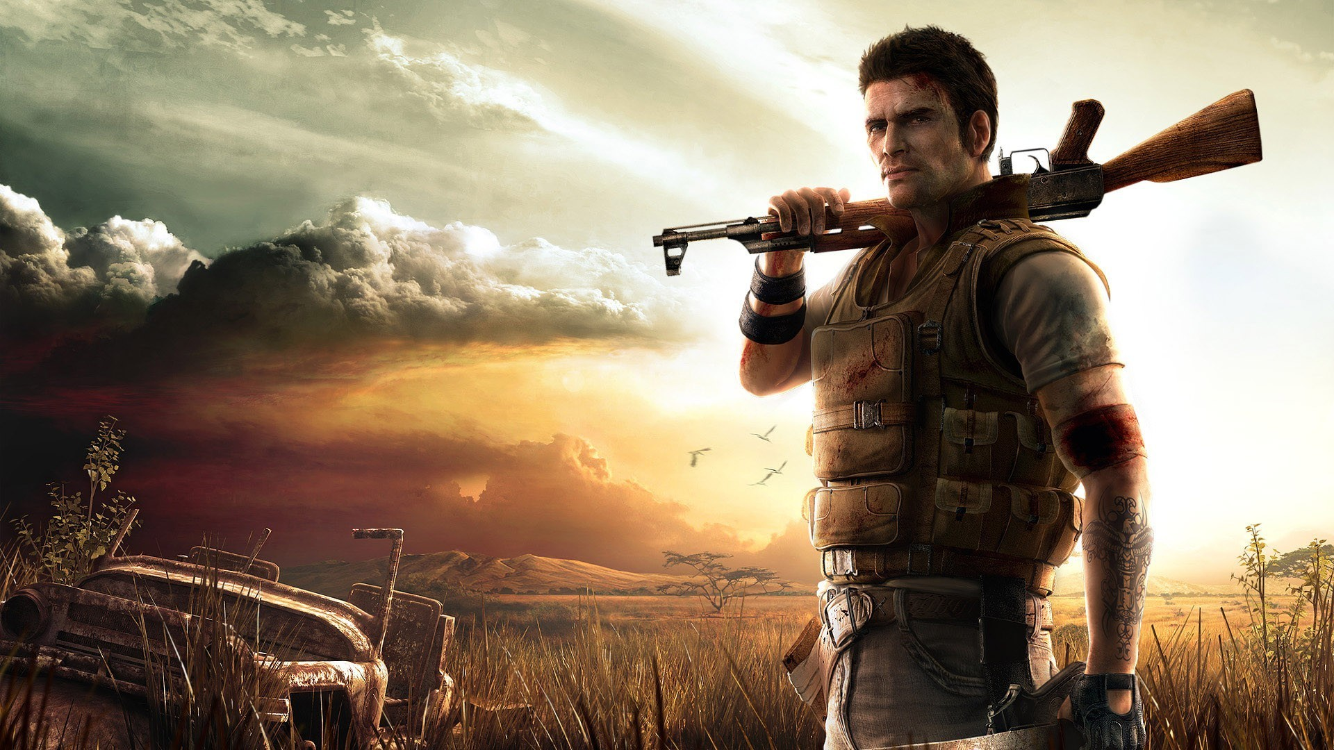 Steam Ali Mansoor Steals Far Cry 2 Art For Shovelware Mmo Fallout